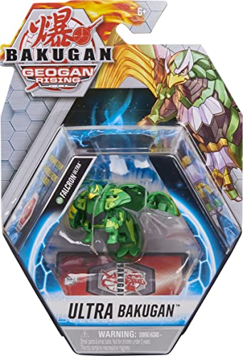 discount Bakugan Ultra, Falcron, 3-inch Tall Geogan Rising Collectible Action Figure and lowest Trading sale Card sale