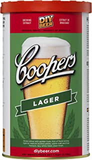 Coopers DIY Beer Lager Homebrewing Craft Beer Brewing Extract