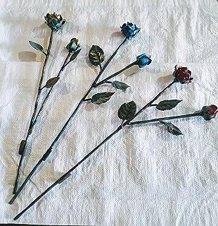 Rose in ferro battuto