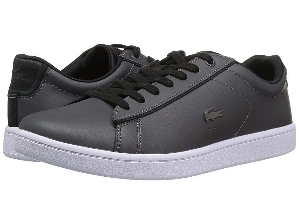 Lacoste Carnaby Evo 118 7 (Dark Grey/Black) Women