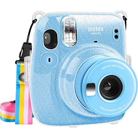 Color Katia Camera Case Compatible for Fujifilm Instax Mini 11 Instant Film Camera with Adjustable Shoulder Strap Green