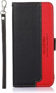 NEINEI Hoesje voor OnePlus Nord 2 5G Case,Flip Leer Hoes Case met [Magnetisch][Kaartsleuf][FRID-Bescherming],Kleurcontrast...