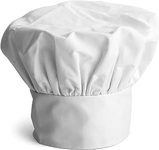 Cappello Chef, Set di 3 Cappelli da Cuoco Regolabili Toque E