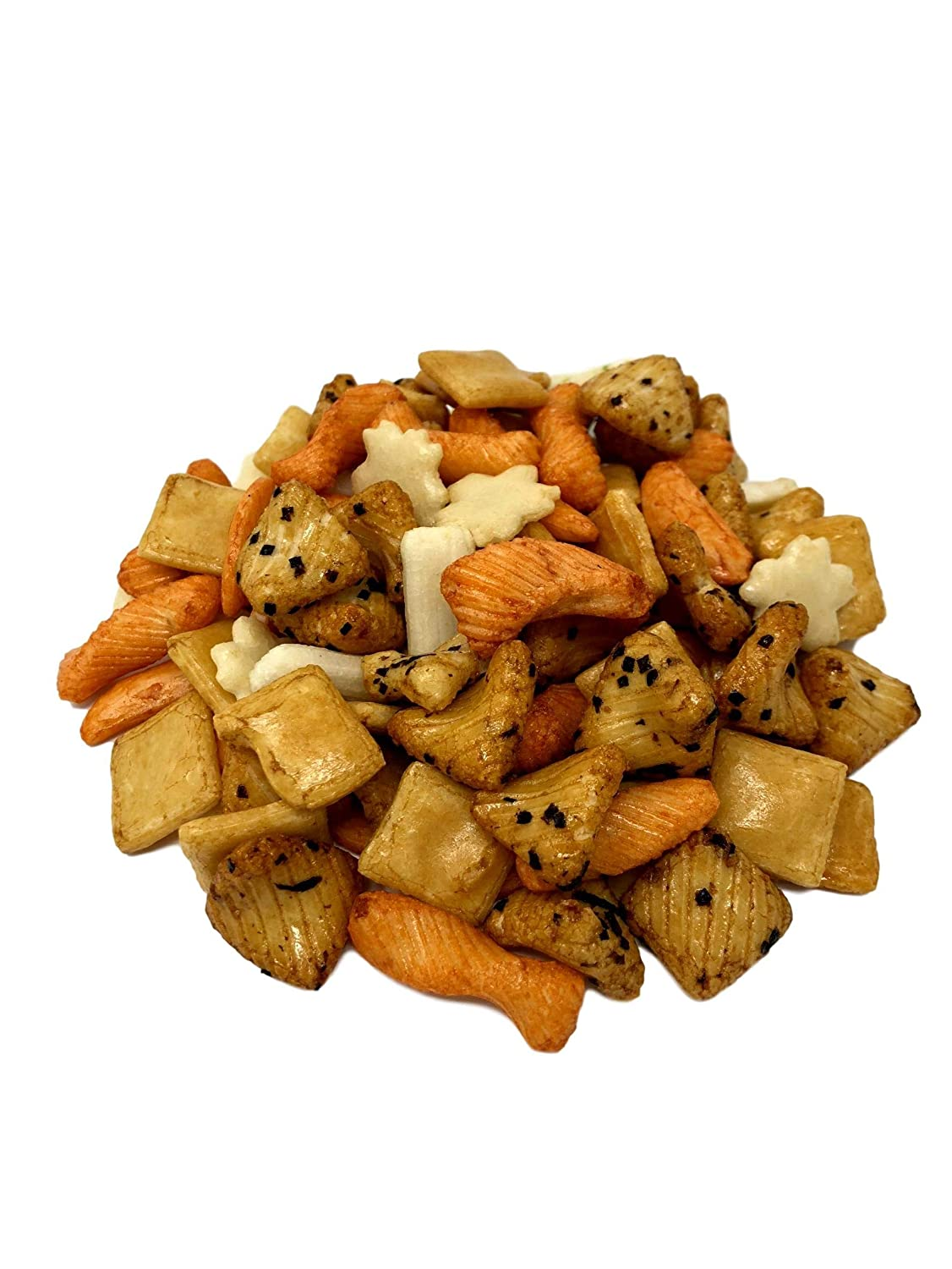 Oriental Rice Crackers Popular No Artificial Crunchy Spicy Colors N Seattle Mall