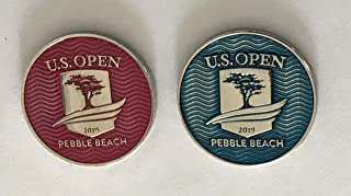 2019 U.S. Open golf ball marker pebble beach two sided new pga