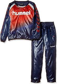 [ヒュンメル] サッカー ジュニアトライアルスーツ シャツ パンツ HJW4182SP [ボーイズ]