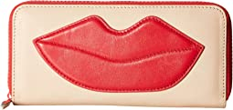 Alice + Olivia - Long Wallet with Lip