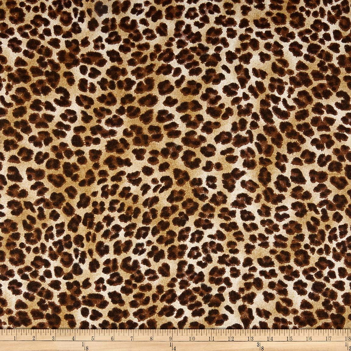 5.3 Y SHEER Leopard Print Fabric