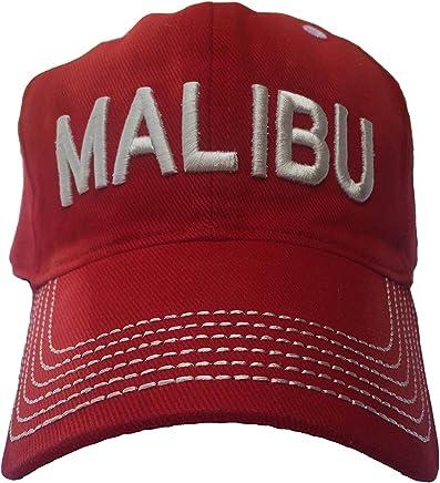 c53707489a9 Malibu Distressed Vintage Beach Hat - Beach Wear - Surf Cap - Surf Hat - Trucker  Hat - Baseball Cap - Great Shade Visor