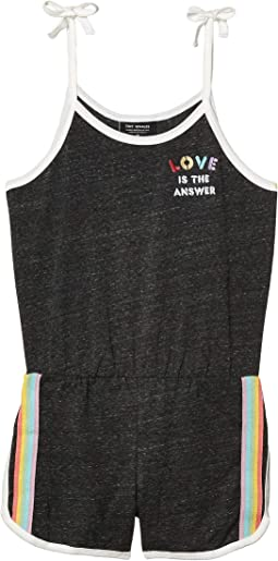 Love Is The Answer Romper (Toddler/Little Kids/Big Kids)