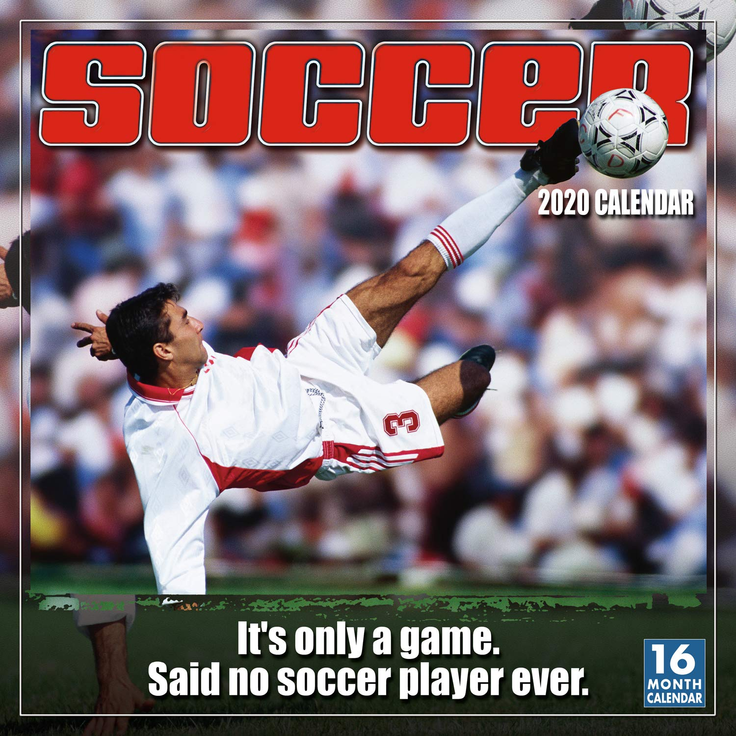 Image OfSoccer 2020 Wall Calendar: By Sellers Publishing