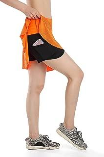 Womens Running Golf Skorts Tennis Workout Skirt