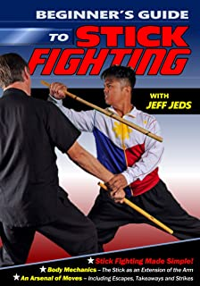 Beginner's Guide to Stick Fighting DVD Jeff Jeds Arnis Filipino Martial Arts -VD9340A