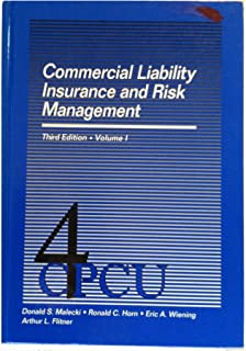 Commercial Liability Insurance and Risk Management: 001