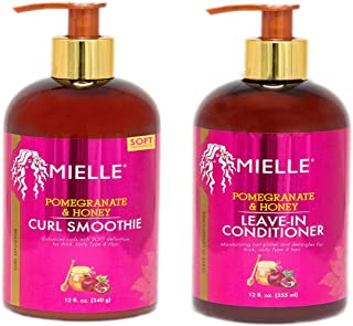 Mielle Pomegranate & Honey Combo (CURL SMOOTHIE & LEAVE-IN CONDITIONER)