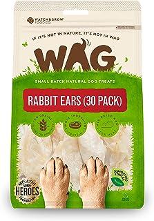 Watch & Grow Food Co Rabbit Ears Dog Treat, 30 Pack