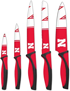 The Sports Vault NCAA Nebraska Cornhuskers Kitchen Knives, Team Color