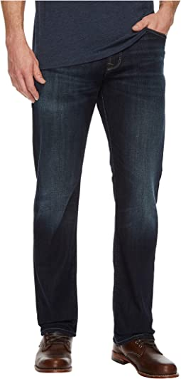 Mavi Jeans - Matt Relaxed Straight Leg in Dark Shaded Authentic Vintage
