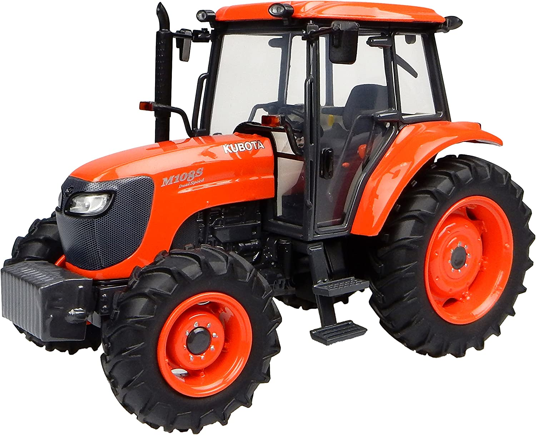 Universal Hobbies Kubota 送料0円 クリアランスsale 期間限定 Tractor Scale 32Orange m108s 1