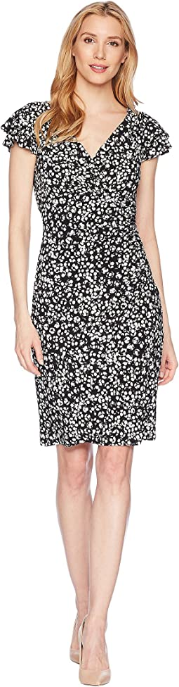 LAUREN Ralph Lauren Cinnamon Abstract Brisa Dress