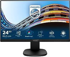 Philips 243S7EJMB – 24 Zoll FHD Monitor, höhenverstellbar (1920×1080, 60 Hz,..