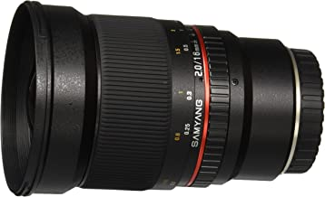 Samyang SY16M-FX 16mm f/2.0 Aspherical Wide Angle Lens for Fuji X