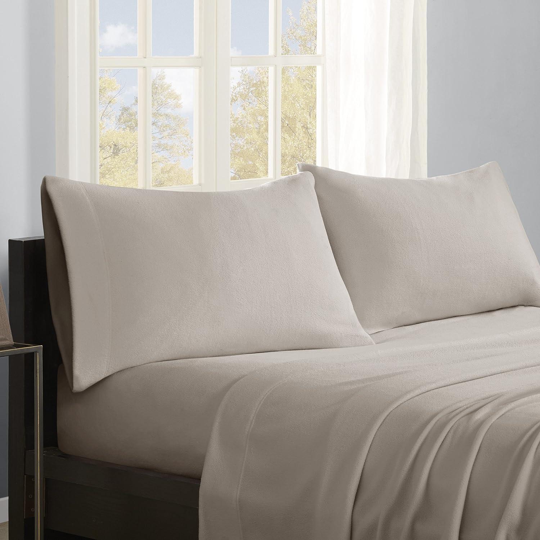 True North by Sleep Philosophy PC20-001 Micro Fleece Sheet Set, Twin
