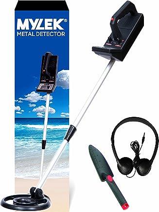 Kit de detector de metal ligero marca Mylek®. Detecta oro, plata y todos