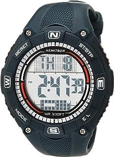 Armitron Sport Men's Digital Chronograph Resin Strap Watch, 40/8477