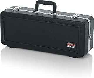 Gator Cases Lightweight Molded Trumpet Case with Locking Latch and Plush Lined Interior;..
