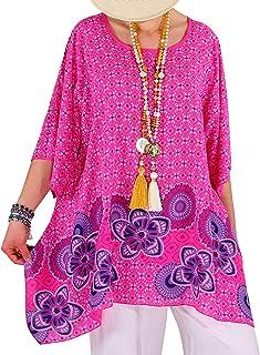 44867516854fa1 Amazon.fr : tunique grande taille : Vêtements
