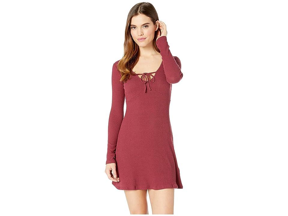 Billabong Walk On Dress (Cranberry) Women