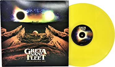 Greta Van Fleet - Anthem Of The Peaceful Army Limited Edition LP Translucent Yellow Vinyl