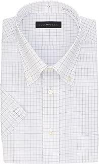 [コナカ] メンズワイシャツ 半袖 ボタンダウン お手入れ簡単形態安定加工 ビジネスベーシックスタイル
