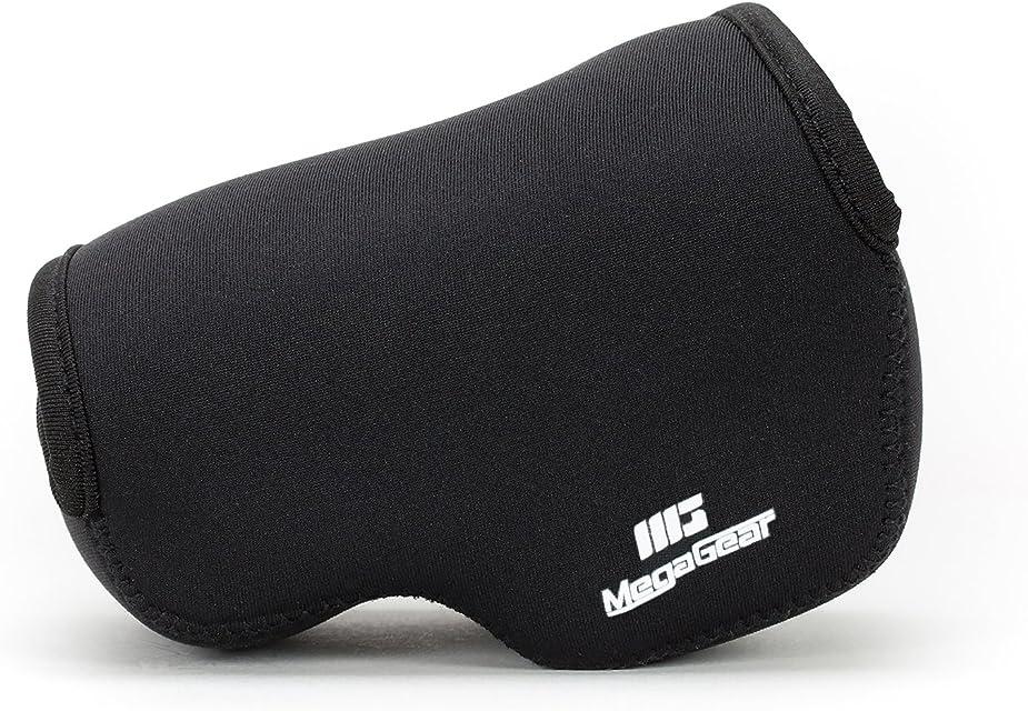 MegaGear Estuche de cámara Ultra Ligero de Neopreno Compatible con Sony Alpha A6100 A6400 A6500 A6300 A6000 (16-50 mm)