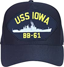 Armed Forces Depot USS Iowa BB-61 Cap. Made in USA