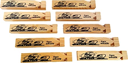 Wooden Train Whistles, By Dondor (24 pack)