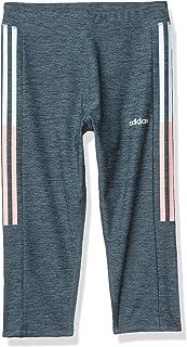 adidas Girls' Active Sports Capri Legging Athletic Tight