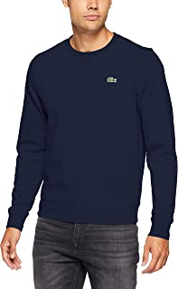 Lacoste Men's Basic Crew Neck Sweatshirt