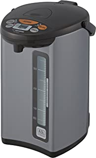Zojirushi CD-WCC40 Micom Water Boiler & Warmer, 135 oz. / 4.0 Liters, Silver