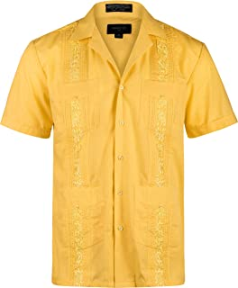 Ward St Men's Short Sleeve Cuban Guayabera