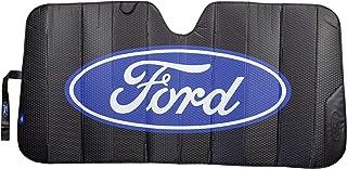 Plasticolor 003858R01 Black Matte Finish Car Truck or SUV Front Ford Logo Windshield Sunshade