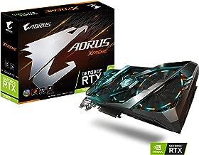 Gigabyte AORUS GeForce RTX 2080 Ti Xtreme 11G Graphics Card, 3X Stacked Windforce Fans, 11GB 352-bit GDDR6, Gv-N208TAORUS X -11GC Video Card
