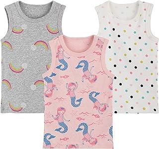 2er Pack Unterw/äsche Baumwolle Hemd ohne Arm Mesh Schlafanzug 6 Monate 6 Jahre Baby Jungen M/ädchen Unterhemd