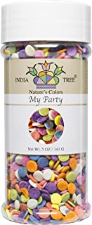 India Tree Nature's Colors My Party Decoratifs Jar, 5.0 Ounce