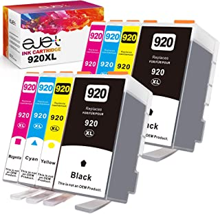 ejet 920XL 920 XL Compatible Ink Cartridge Replacement for HP to use with Officejet 6500a 6500 7500a 6000 7500 7000 Plus P...