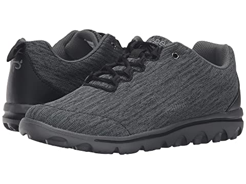 Black TravelActiv Grey Propet Propet TravelActiv Black Heather I0qwwanpvW