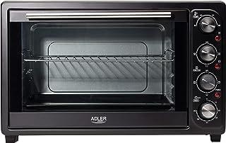 Adler AD 6010 Horno de sobremesa, 2000 W, 45 litros, 0 Decibeles, Negro
