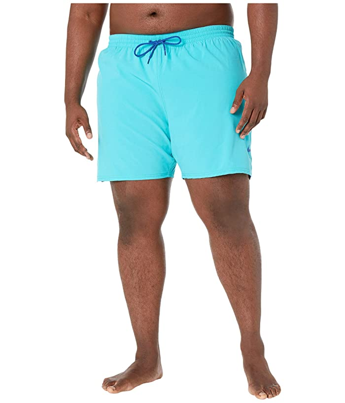 Vintage Men's Swimsuits – 1930s to 1970s History Nike Big Tall 7 Essential Vital Volley Shorts Oracle Aqua Mens Swimwear $58.00 AT vintagedancer.com