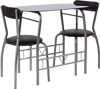 Flash Furniture Sutton 3 Piece Space-Saver Bistro Set...